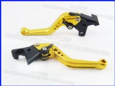Buell 1125R (08-09), CNC lever short gold/black adjusters, F14/C777